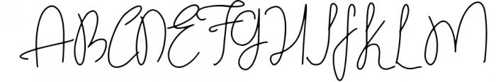 Handlettered Font Bundle 50 in 1. 2 Font UPPERCASE