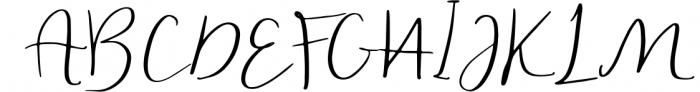Handlettered Font Bundle 50 in 1. Font UPPERCASE