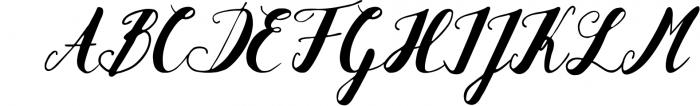 Hanelka Font UPPERCASE