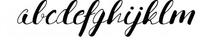 Hanelka Font LOWERCASE