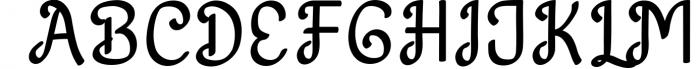 Harton Font UPPERCASE