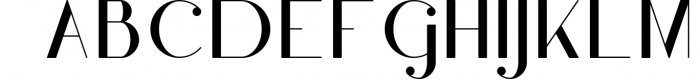 Hashtag Moderna - duo font Extra 2 Font UPPERCASE