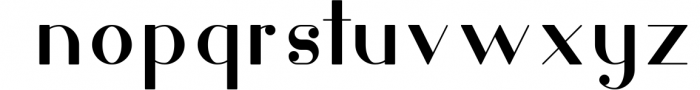 Hashtag Moderna - duo font Extra 2 Font LOWERCASE