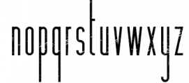Hashtag Moderna - duo font Extra 3 Font LOWERCASE