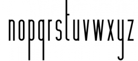Hashtag Moderna - duo font Extra Font LOWERCASE