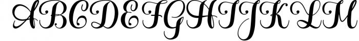 Hatachi Family 1 Font UPPERCASE