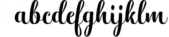 Hatachi Family 1 Font LOWERCASE