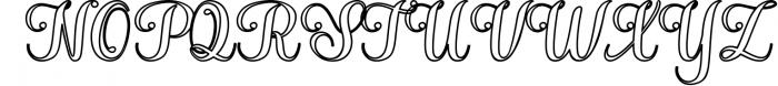 Hatachi Family 3 Font UPPERCASE