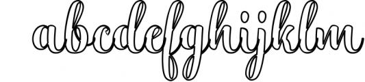 Hatachi Family 3 Font LOWERCASE