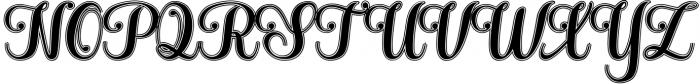 Hatachi Family Font UPPERCASE