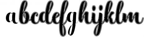 Hatachi Family Font LOWERCASE