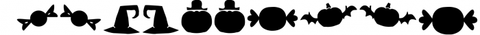 Hatter Halloween 1 Font OTHER CHARS