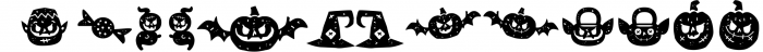 Hatter Halloween 4 Font LOWERCASE