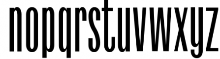 Havanna - Tall sans typeface with 3 weights 1 Font LOWERCASE