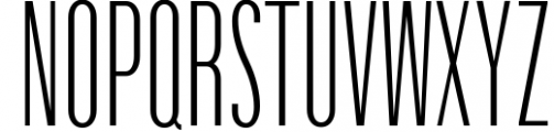 Havanna - Tall sans typeface with 3 weights 2 Font UPPERCASE