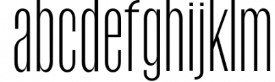 Havanna - Tall sans typeface with 3 weights 2 Font LOWERCASE