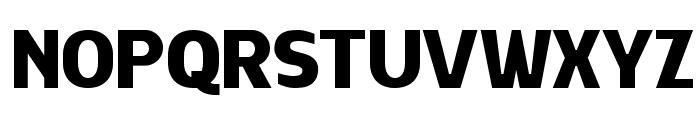 HALIWISTA Font UPPERCASE