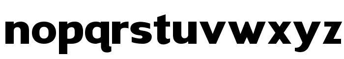 HALIWISTA Font LOWERCASE