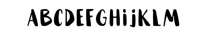 HAMMOCK-Black Font UPPERCASE