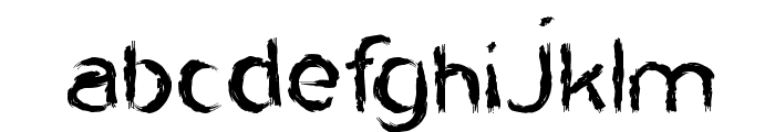 HARLEY QUEEN Font LOWERCASE