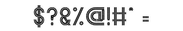 HARMONIC VIBRATION Font OTHER CHARS