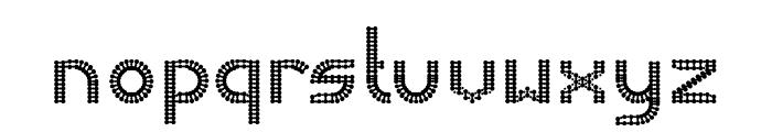 HARMONIC VIBRATION Font LOWERCASE