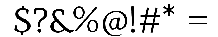 Habibi-Regular Font OTHER CHARS