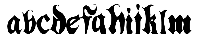 Hacjiuza Font UPPERCASE