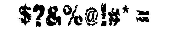 Hacknslash Font OTHER CHARS