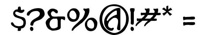 Hadley Font OTHER CHARS