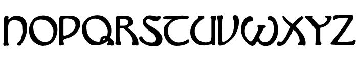 Hadley Font UPPERCASE