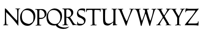 Hadrianus Demo Font UPPERCASE