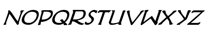 Hadriatic Bold Italic Font LOWERCASE