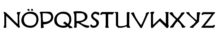 Hadriatic Bold Font UPPERCASE