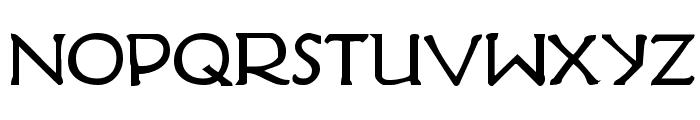 Hadriatic Bold Font LOWERCASE