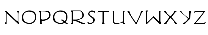 Hadriatic Extended Font LOWERCASE