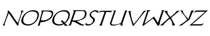 Hadriatic Italic Font LOWERCASE