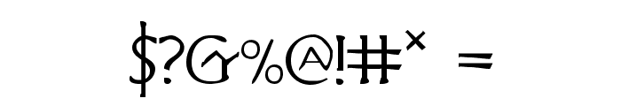 Hadriatic Font OTHER CHARS