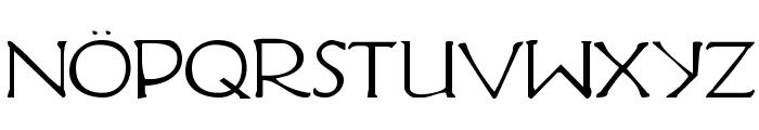 Hadriatic Font UPPERCASE