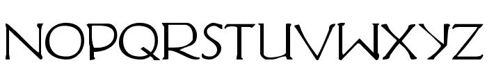 Hadriatic Font LOWERCASE