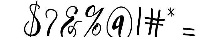 Hafizan Script Font OTHER CHARS
