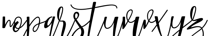 Hafizan Script Font LOWERCASE