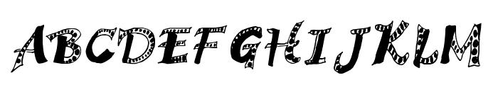 Hagadou Regular Font UPPERCASE