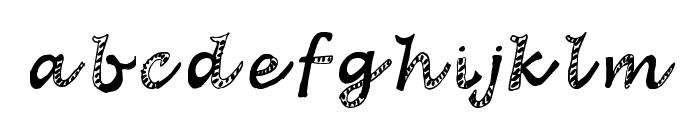 Hagadou Regular Font LOWERCASE