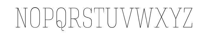 HaginCapsThin Font LOWERCASE