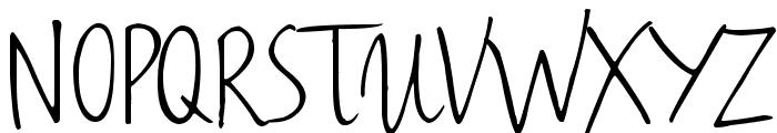 Haiku's Script v.08 [upgrade] Font UPPERCASE
