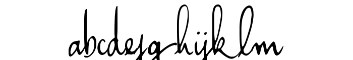 Haiku's Script v.08 [upgrade] Font LOWERCASE