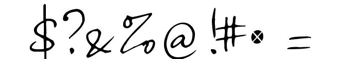 Haiku's Script ver 09 Regular Font OTHER CHARS