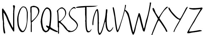 Haiku's Script ver.06 Font UPPERCASE