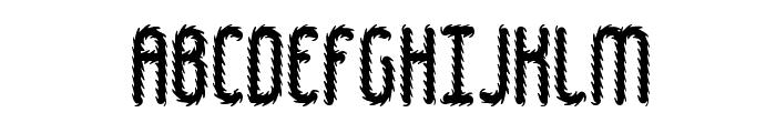 Hairball BRK Font UPPERCASE